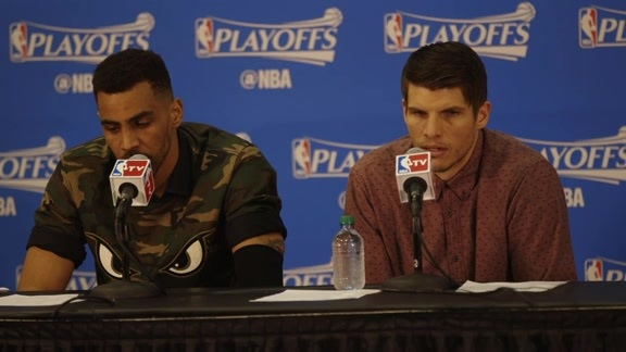 Sefolosha, Korver Discuss Game 2 Victory Over Celtics