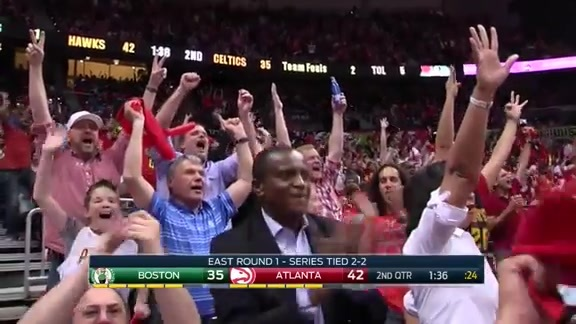 Kent Bazemore's 9 Points in 87 Seconds Puts Hawks Up For Good