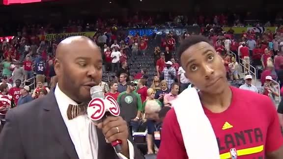 Jeff Teague Gives All The Credit To The Fans After Game 5