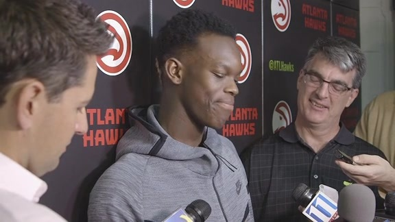 Schroder: Next Year I'm Going To Dunk More