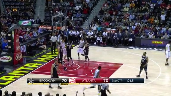 A 30-Second Demonstration of Tiago Splitter's Work Around The Basket