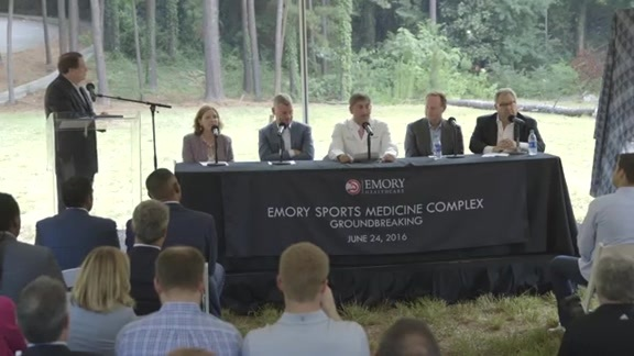 WATCH: Press Conference At Site of Groundbreaking