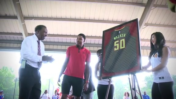 Hawks Join City of Atlanta In Honoring William Walker