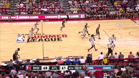 WATCH: Taurean Prince's Summer League Debut