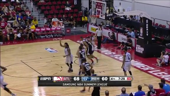 Tavares Closes Summer League With Double-Double