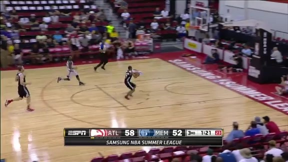 Every Hawks Dunk From Summer League In 39 Seconds