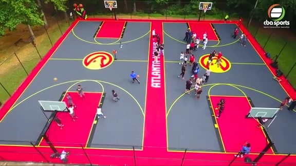 Awesome Drone Footage of Hawks New Court At Cliftondale Park