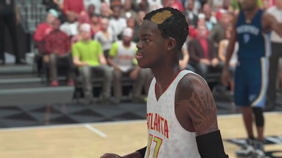 Dennis Schröder Reacts After Playing NBA 2K17