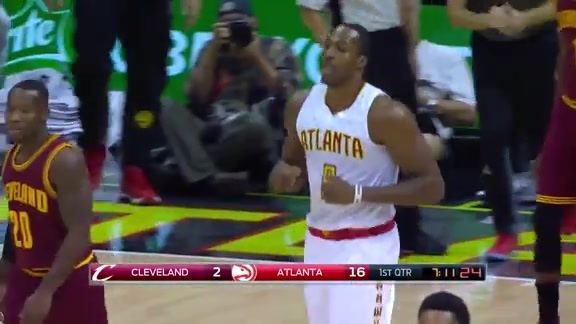 Highlights: Dwight Howard Dominates In His Hawks Home Opener