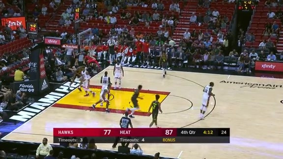 5 Plays Worth Watching Again From Hawks' Preseason Opener