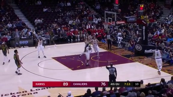 Hawks Top Plays In Triumph Over Cavaliers