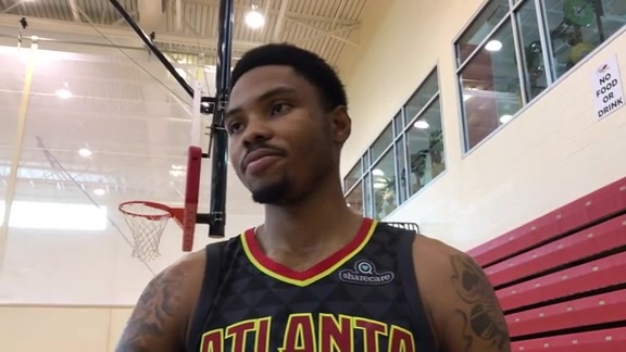 Bazemore Talks Community & Sharecare Scrimmage