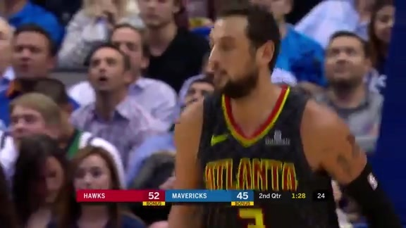 Belinelli Shows No Signs of Soreness In 20-Point Effort