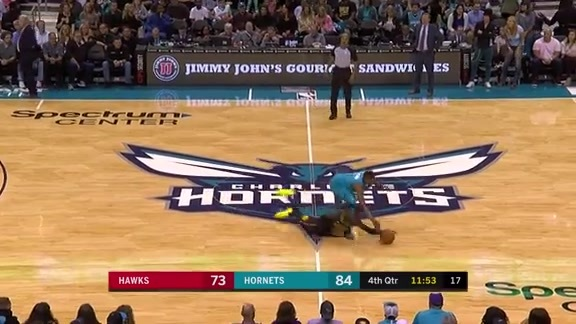 WATCH: Some of the Best Plays From Hawks vs. Hornets