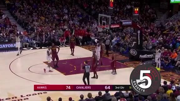 Plays of the Week: John Collins Posterizes Cavs