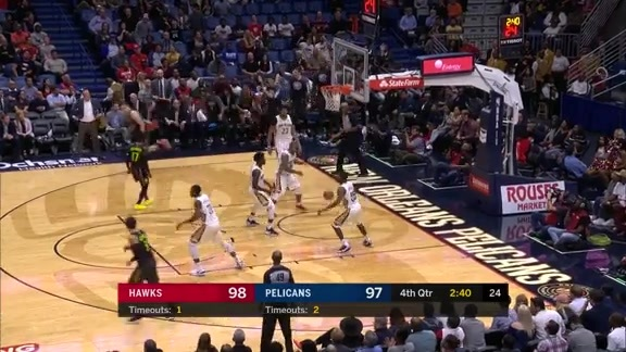 Cavanaugh Lights It Up From Bench vs. Pelicans