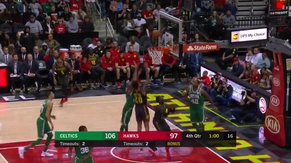 John Collins Puts On Impressive Performance vs. Boston Celtics