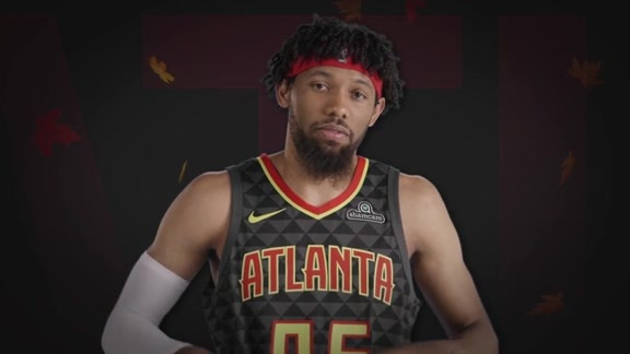 Hawks Players Share Favorite Thanksgiving Pastimes