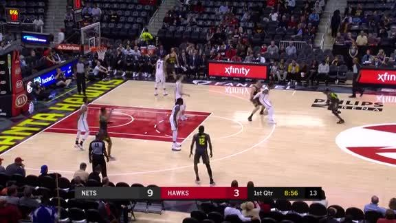Schröder Scores 19 Against Nets at Home