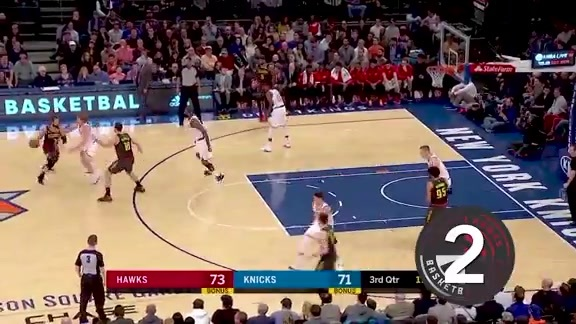 Plays of the Week: Bazemore Leads the Way