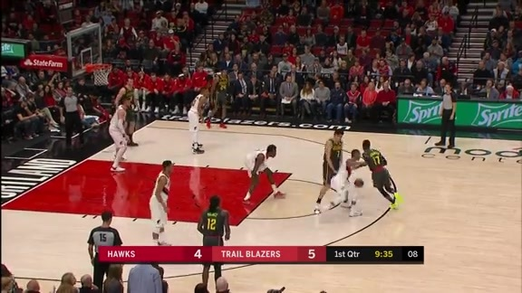 Schröder Finishes With Team-High 14 Points vs. Portland