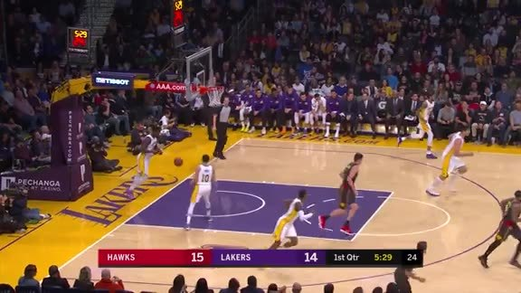 John Collins Hits First Career 3-Pointer