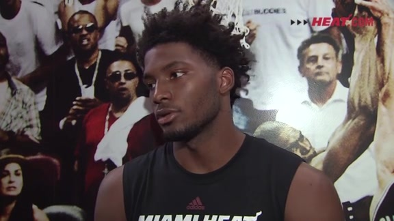 Practice: Justise Winslow (10/5/15)