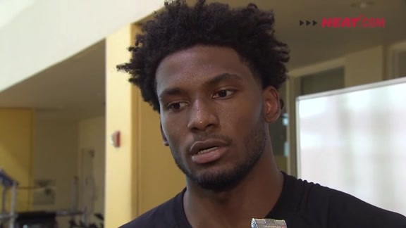 Practice: Justise Winslow (10/09/15)