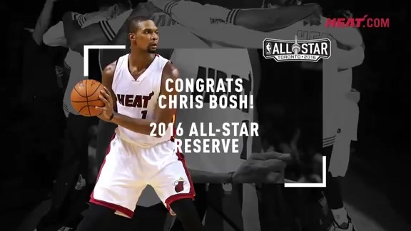 Chris Bosh All-Star 15-16