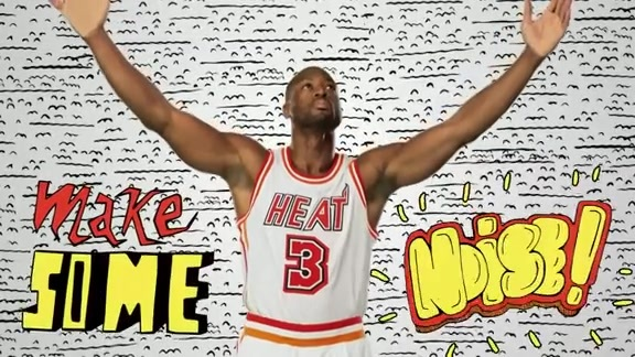 HEAT Throwback Player Intro