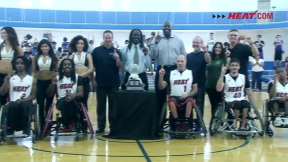 HEAT Wheels Banner Unveiling