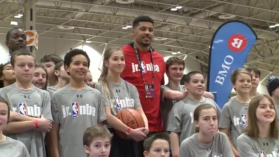 NBA Cares Jr. NBA Clinic: Dan Craig