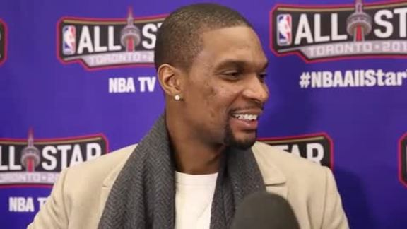 All-Star Media Day: Chris Bosh (2/12/16)