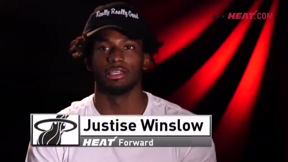 Winslow HEAT Nation Thank You