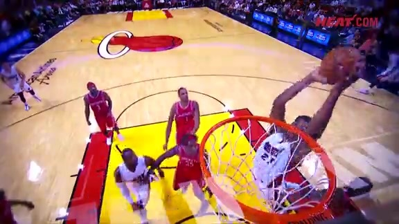 Wade-to-Whiteside Alley-Oop Highlight Mix