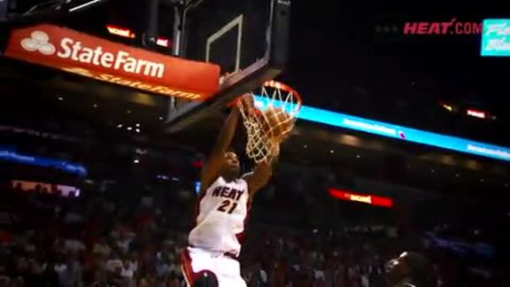 2015-16 HEAT Hottest Alley-Oops