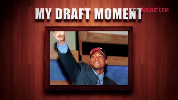 Dwyane Wade Draft Day