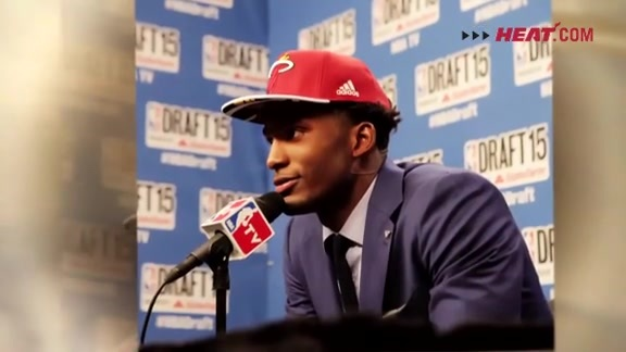 Justise Winslow Draft Day