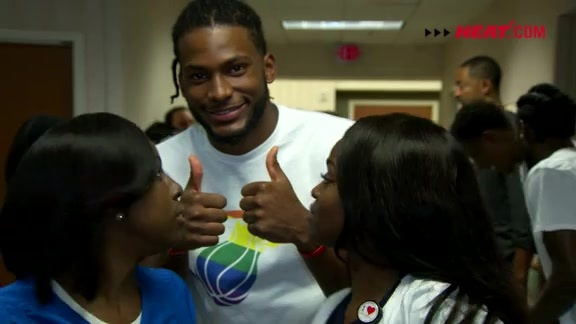 Video Recap: HEAT Visit Orlando Regional Medical Center