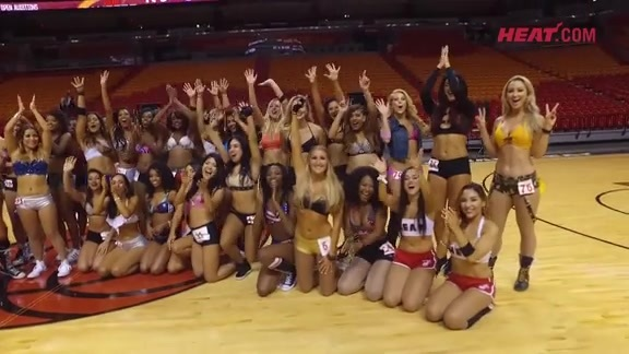 2016 HEAT Dancer Auditions Recap