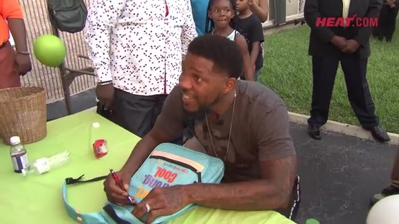 Udonis Haslem Back to School Kickback