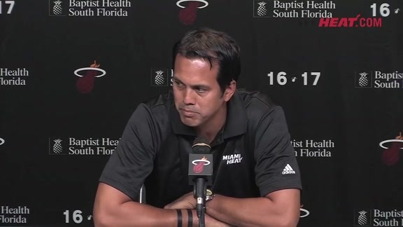 Media Day 2016: Erik Spoelstra (Part 3)