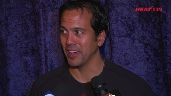 Bahamas Training Camp Day 2: Erik Spoelstra
