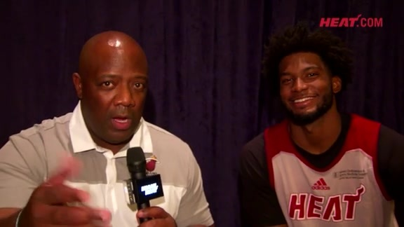 Bahamas Training Camp Day 4: Justise Winslow 1-on-1 with Jason Jackson