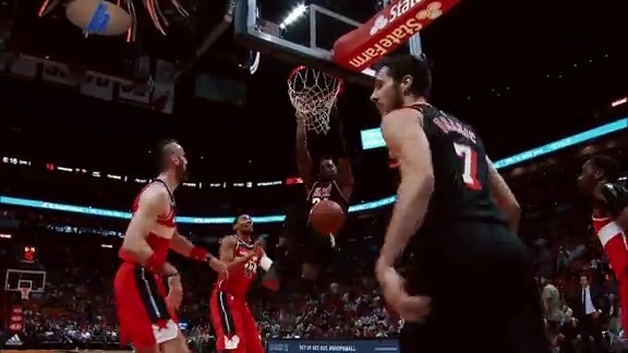 First Half Highlights vs Wizards (11/15/17)