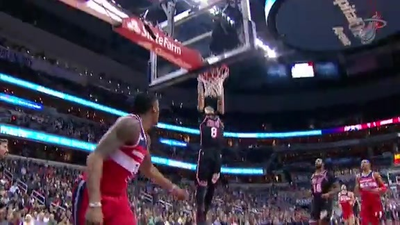 First Half Fast-Break Highlights vs Wizards (11/17/17)