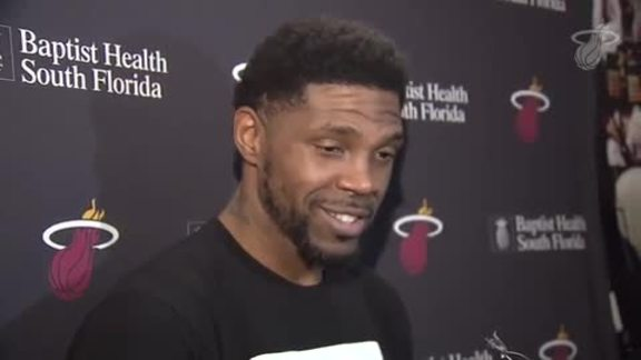 Practice: Udonis Haslem (11/20/17)