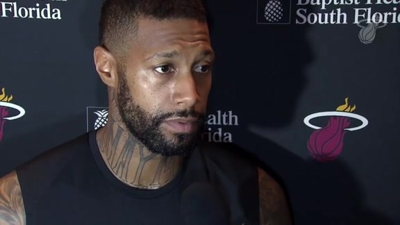 Shootaround: James Johnson (11/22/17)