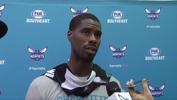 2015 Hornets Training Camp   Marvin Williams - 9/28/15