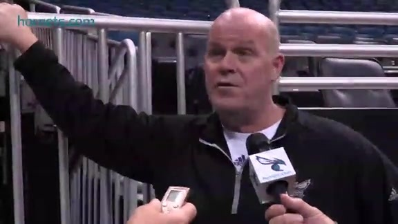 Shootaround Sound | Steve Clifford - 10/03/15